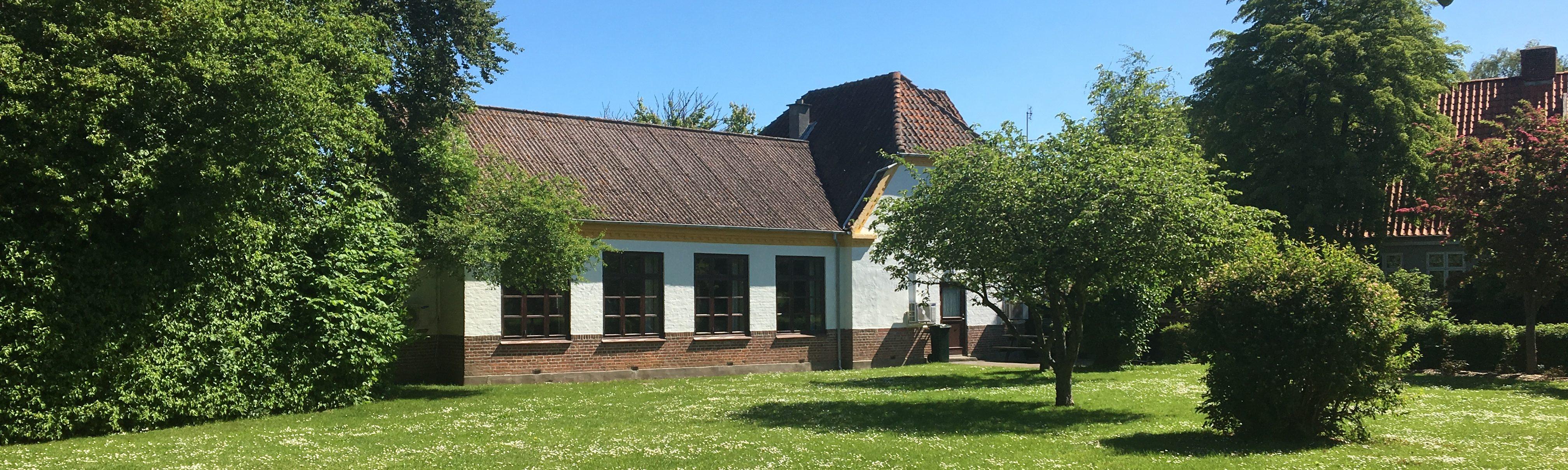 Billedet viser Vindeby forsamlingshus.